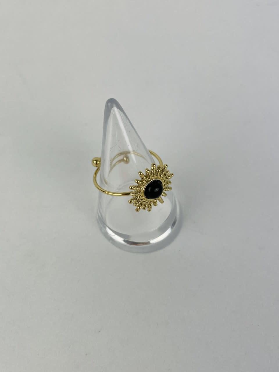 Solea ring Black-2