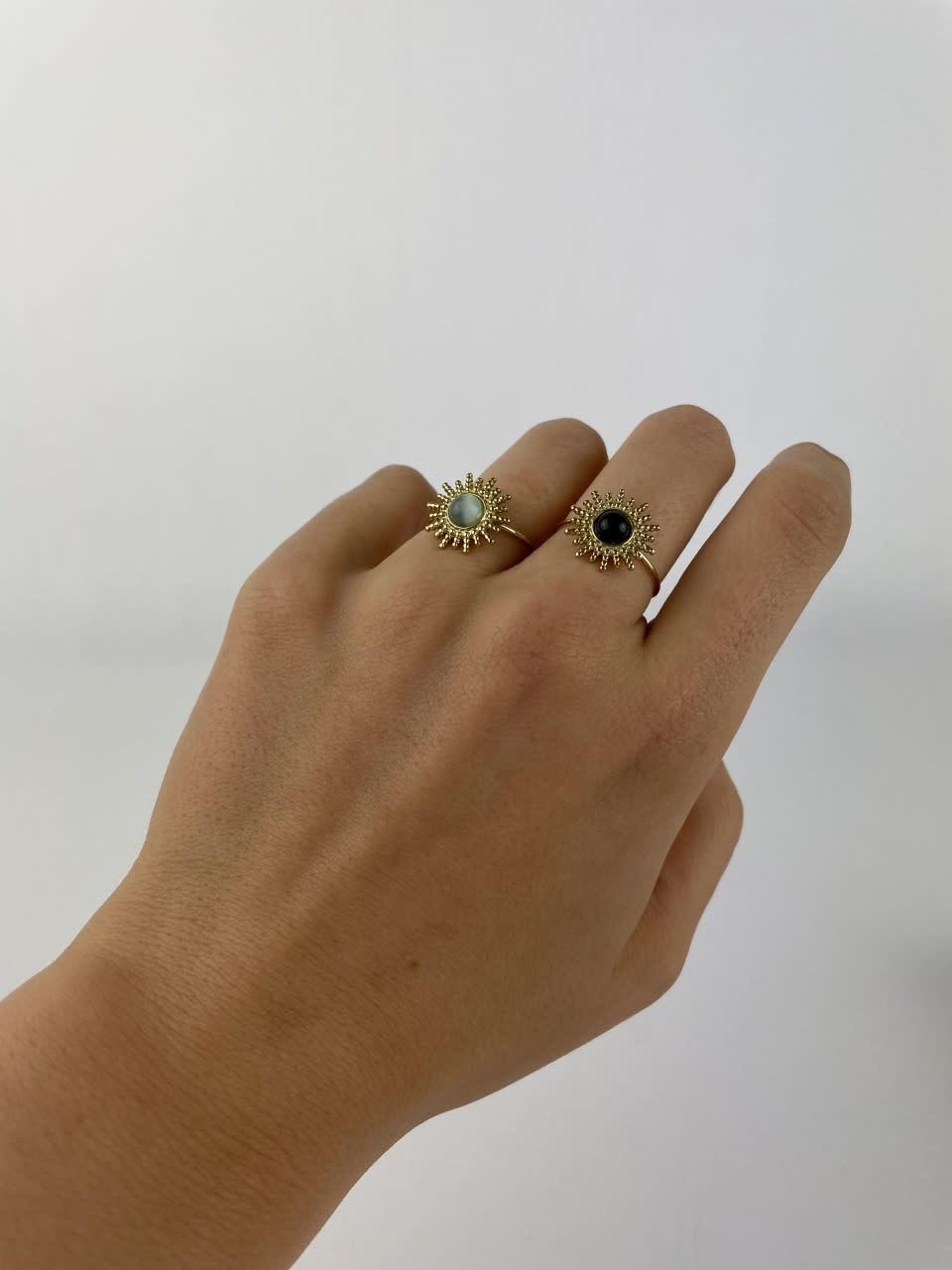 Solea ring Black-4