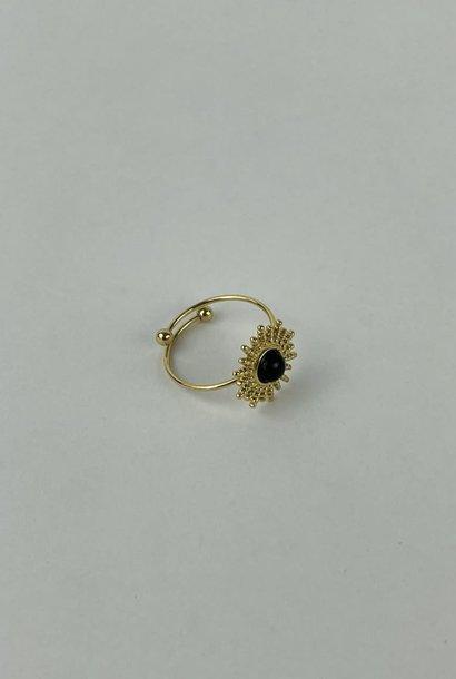 Solea ring Black
