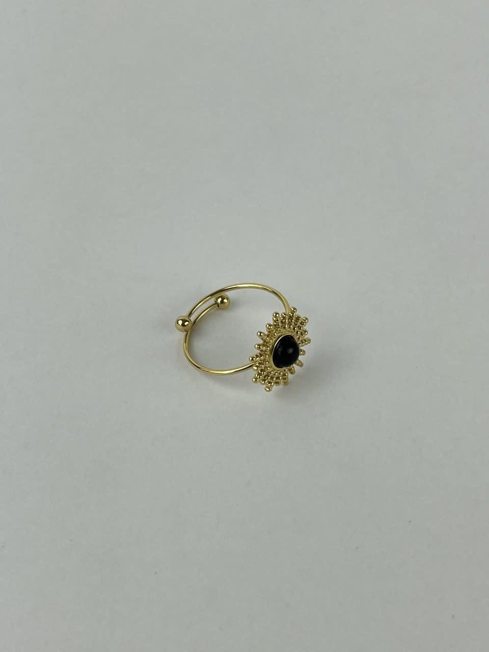 Solea ring Black-1