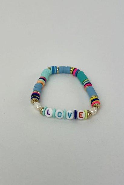 Rubberia fantasy bracelet Love Fresh