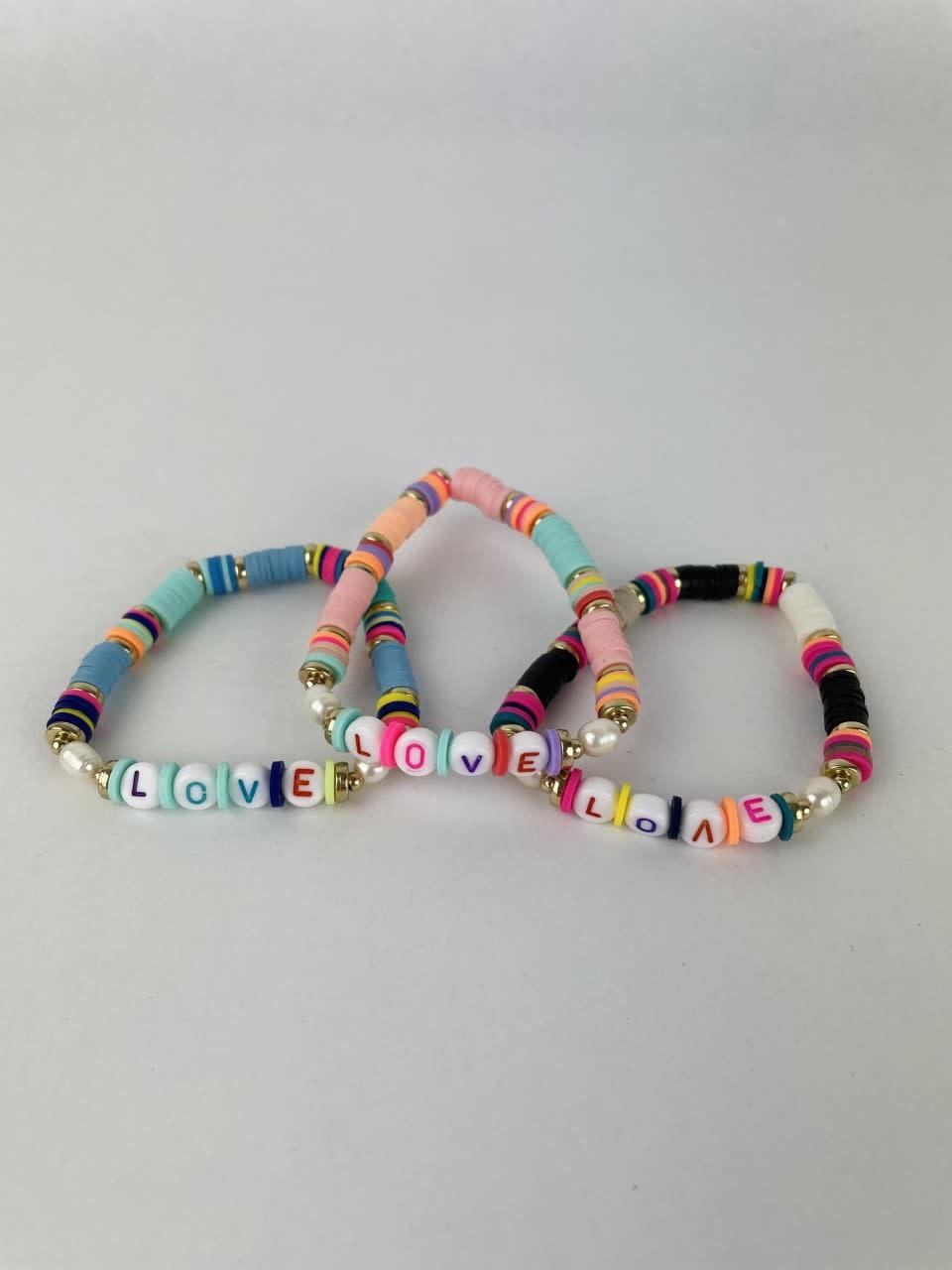 Rubberia fantasy bracelet Love Pink-3