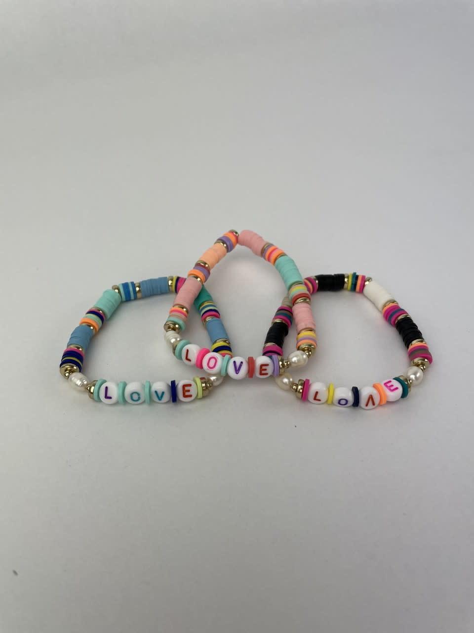 Rubberia fantasy bracelet Love Black-2