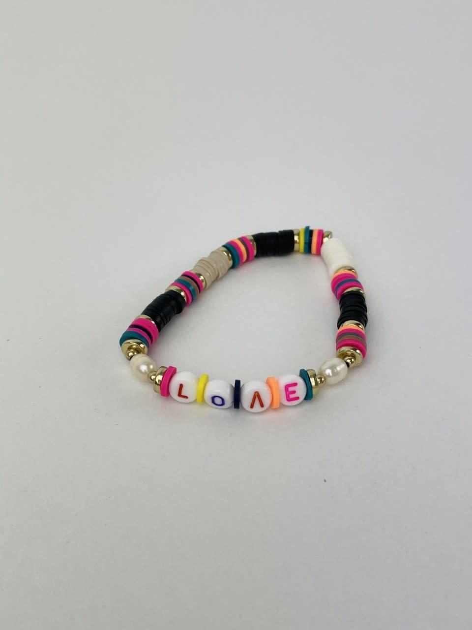 Rubberia fantasy bracelet Love Black-1