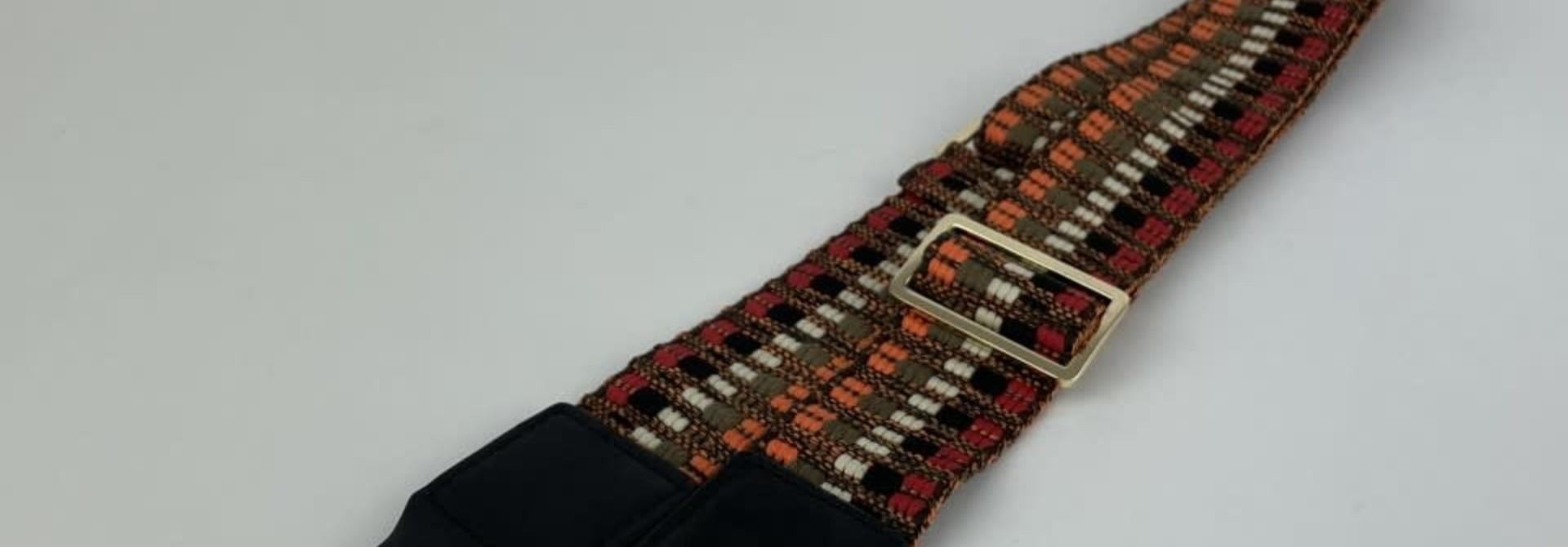 Ilmya woven shoulder strap Orange