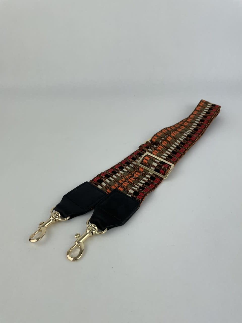 Ilmya woven shoulder strap Orange-1