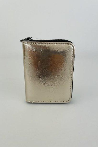 Lomea little wallet Gold Metalic