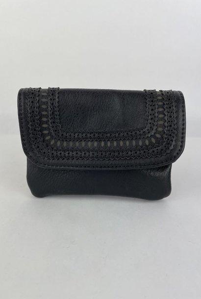 Laïka wallet Black