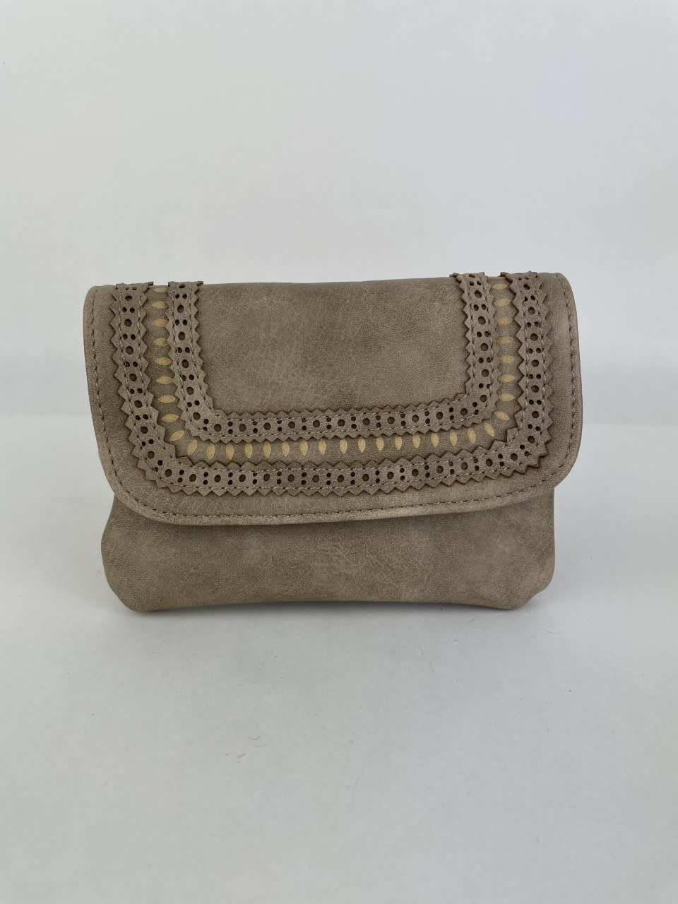 Laïka wallet Taupe-1