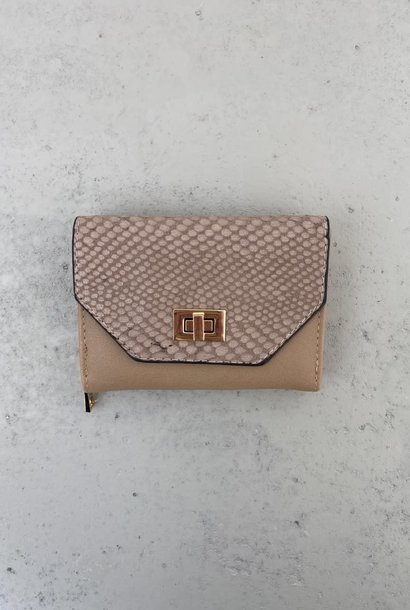 Manon wallet Taupe