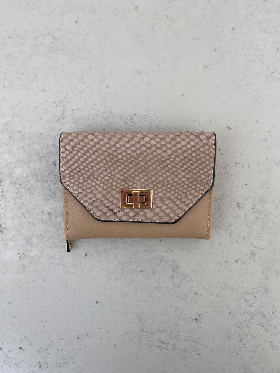 Manon wallet Taupe-1