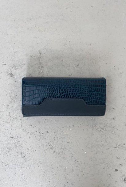 Luigina croco wallet Green