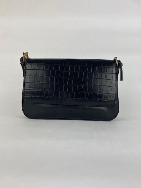 Hatice croco bag Black-1