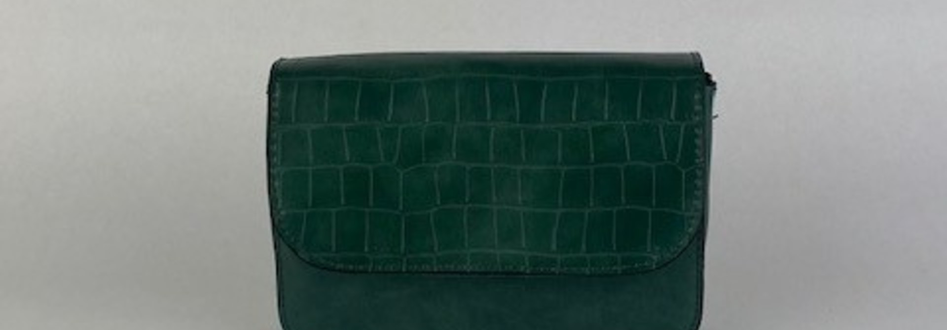 Hailey croco bag Ash Green