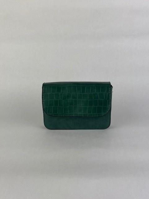 Hailey croco bag Ash Green-1