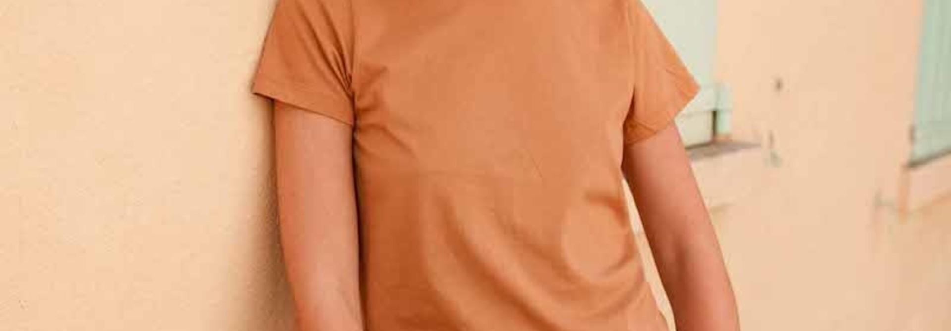 Chanae cotton t-shirt Safran