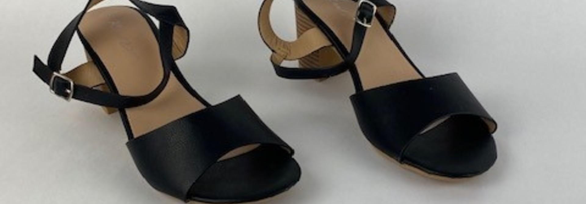 Claretta sandal Black