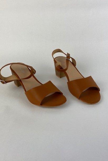 Claretta sandal Camel