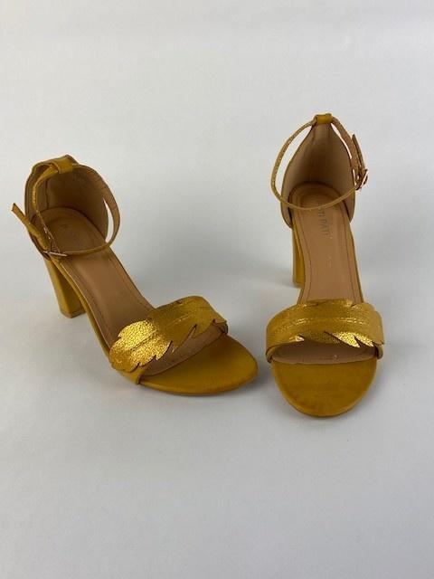 Lucile feader sandal Oker-1