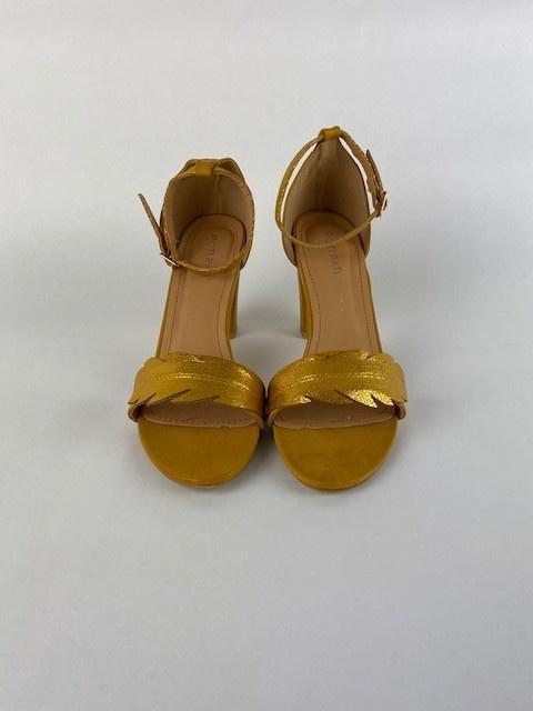 Lucile feader sandal Oker-2