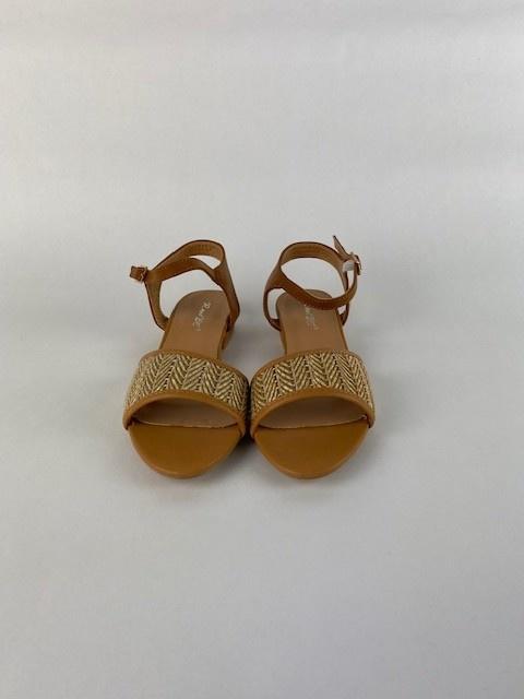 Tammy sandal Paille Camel-2