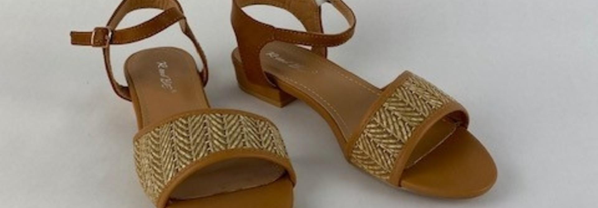 Tammy sandal Paille Camel