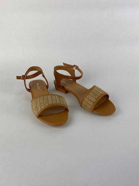 Tammy sandal Paille Camel-1