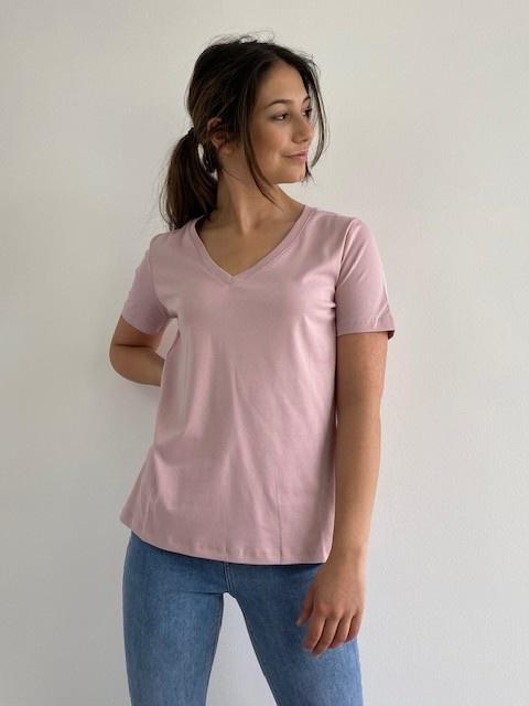 Fenha essential t-shirt Orchid Rose-1