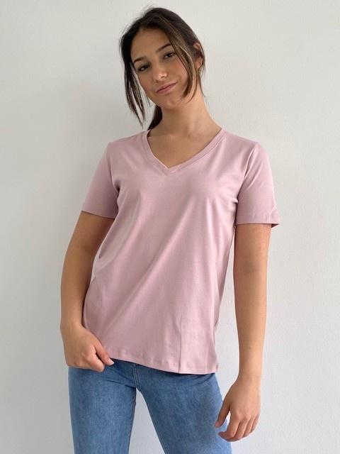 Fenha essential t-shirt Orchid Rose-3