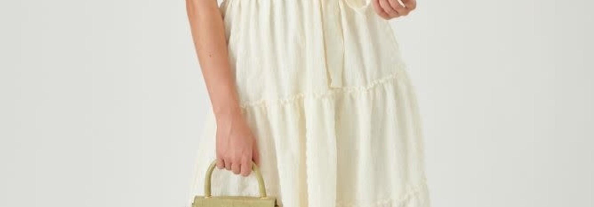 Pheadra siffon wrapdress White