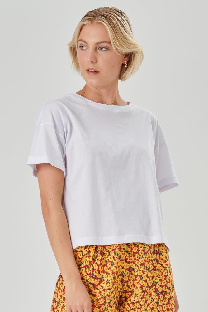 Kimeo essential t-shirt White-1