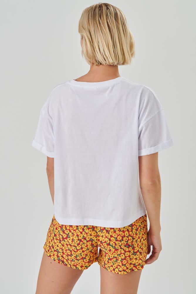 Kimeo essential t-shirt White-2