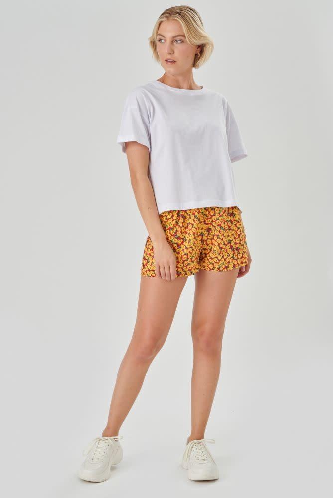 Kimeo essential t-shirt White-3