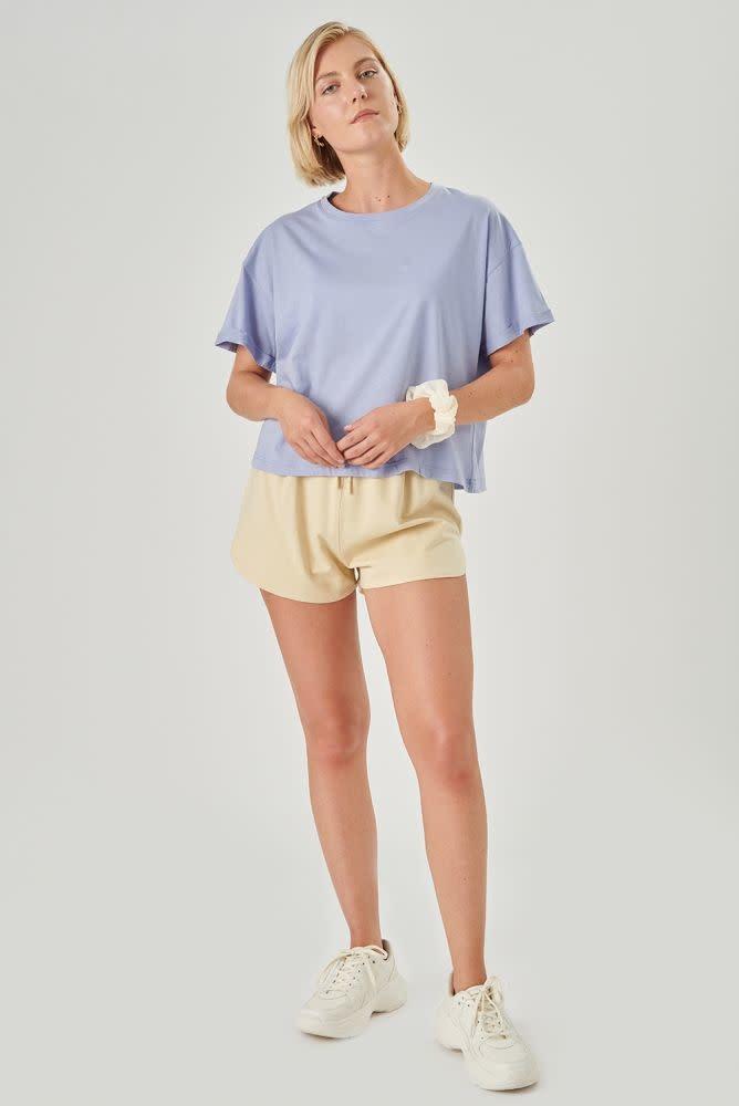 Kimeo essential t-shirt Lavendel Blue-4