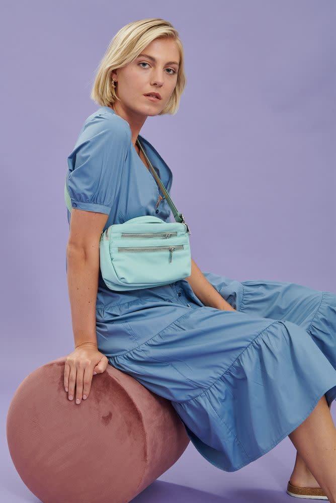 Maxim dress Blue-3
