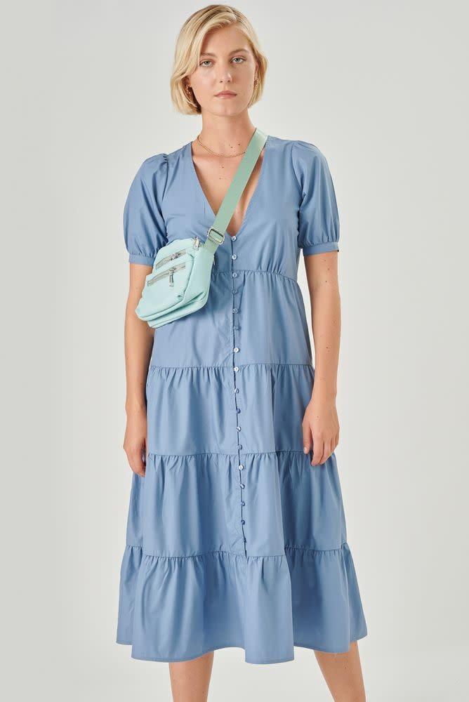 Maxim dress Blue-1