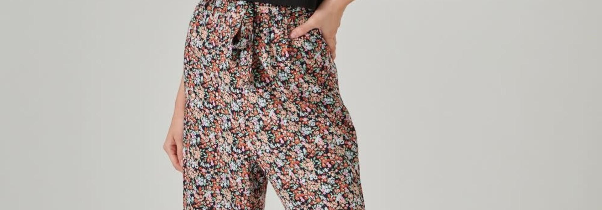 Sofera wide pant Flower