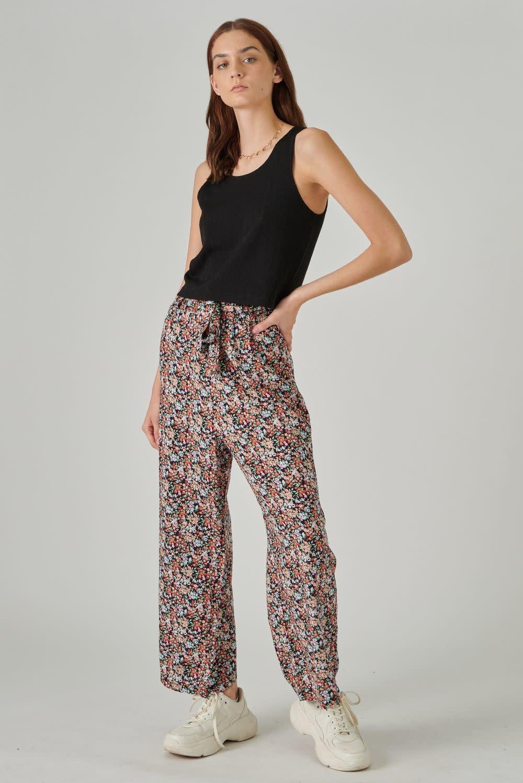 Sofera wide pant Flower-1