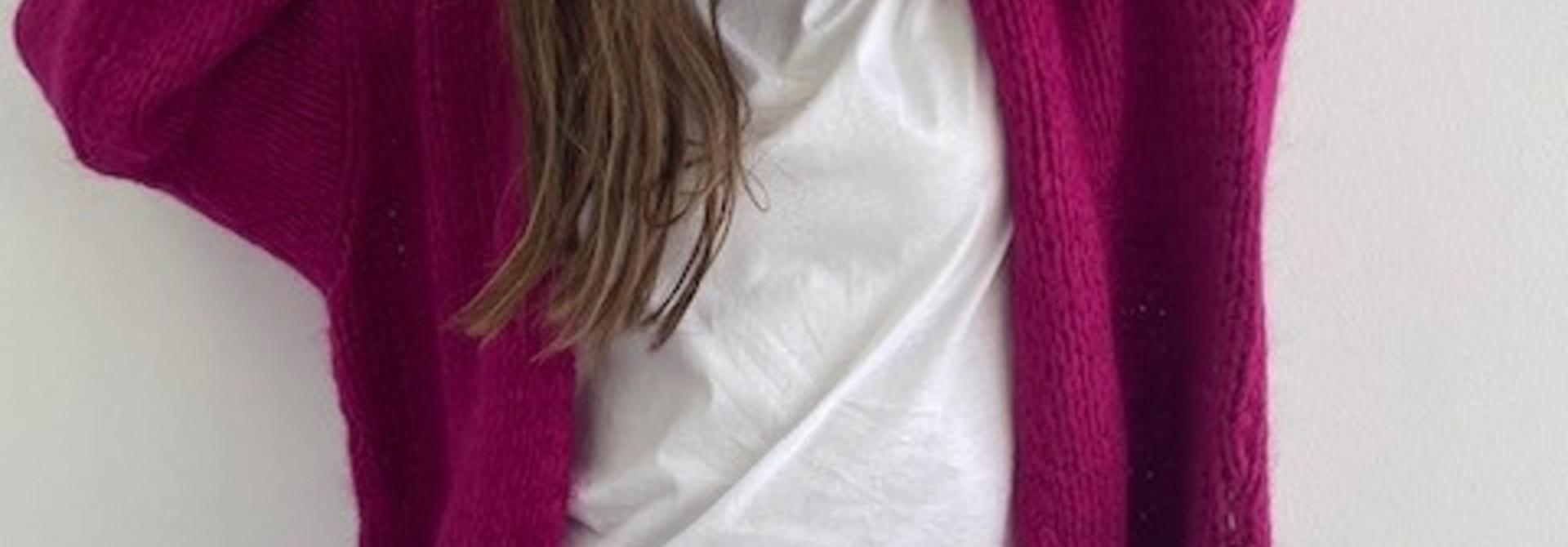 Jelisa oversized short bernadette Violet