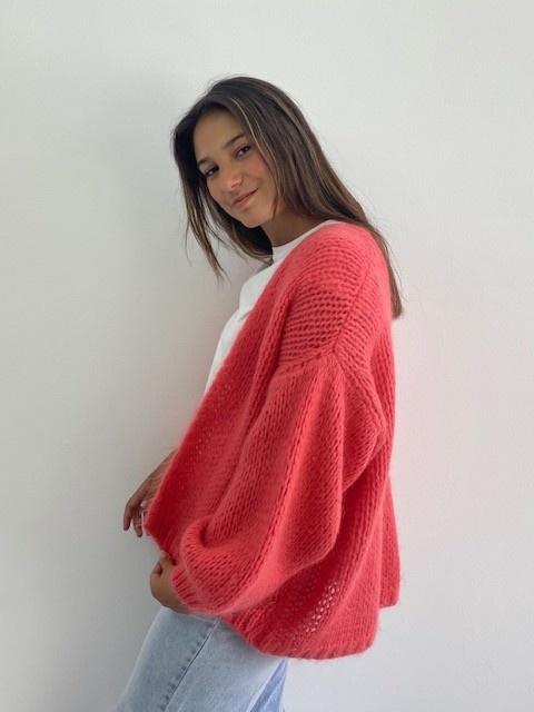 Jelisa oversized short bernadette Coral-2