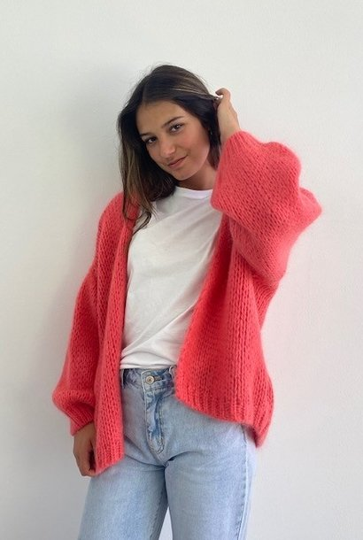 Jelisa oversized short bernadette Coral