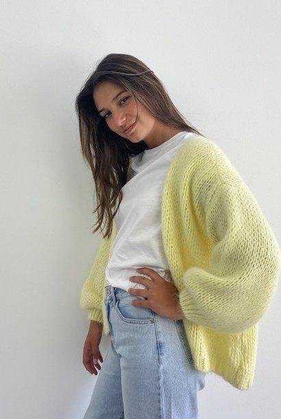 Jelisa oversized short bernadette Soft Yellow