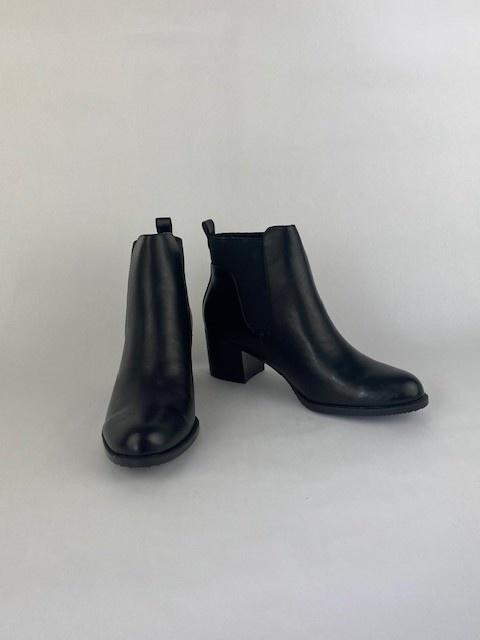 Shanton chelsea boots Black-3
