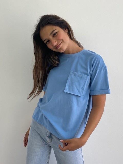 Frinn t-shirt Blue-1