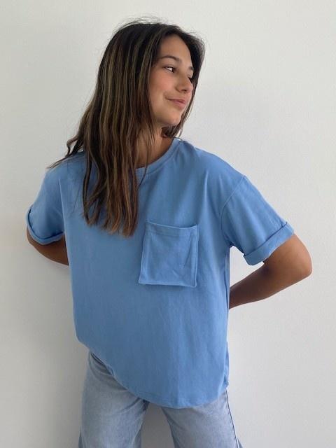 Frinn t-shirt Blue-3