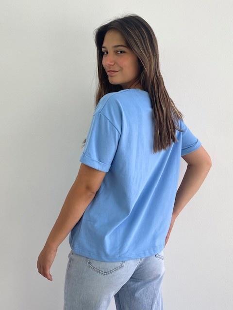 Frinn t-shirt Blue-2