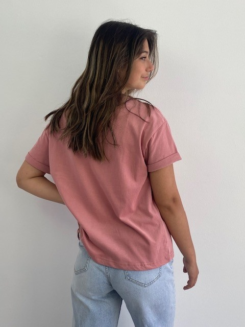 Frinn t-shirt Rose-2