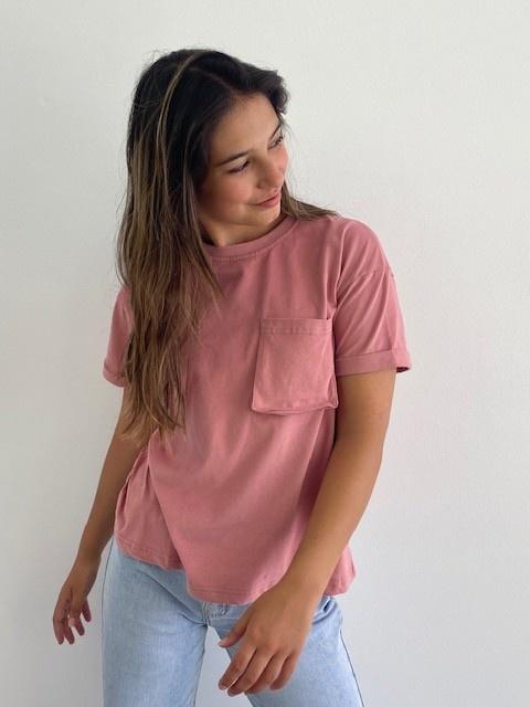 Frinn t-shirt Rose-1