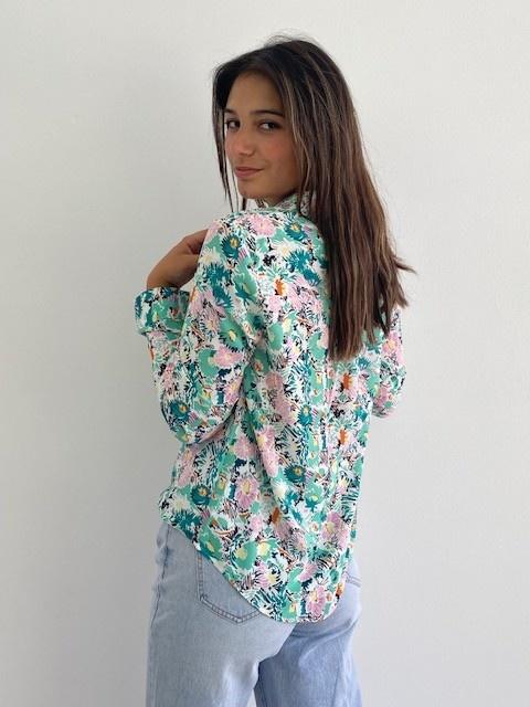 Norea blouse Green-3