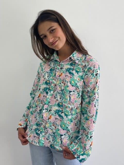 Norea blouse Green-4